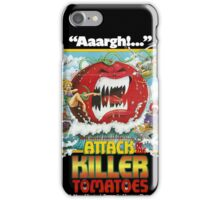 Attack Of The Killer Tomatoes iPhone Case/Skin