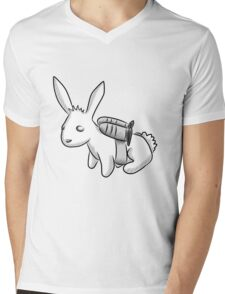 Rocket Bunny Mens V-Neck T-Shirt