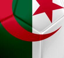 Algeria - Algerian Flag - Football or Soccer 2 Sticker