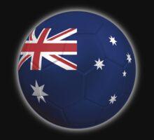 Australia - Australian Flag - Football or Soccer 2 Kids Clothes
