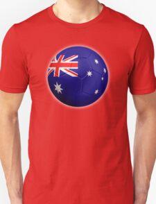 Australia - Australian Flag - Football or Soccer 2 T-Shirt