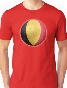 Belgium - Belgian Flag - Football or Soccer 2 Unisex T-Shirt
