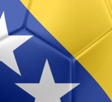 Bosnia and Herzegovina - Bosnian Flag - Football or Soccer 2 Sticker