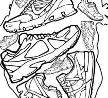 Sneaker Heart Sticker