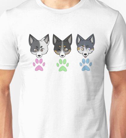 Blue Cattle Dogs Unisex T-Shirt