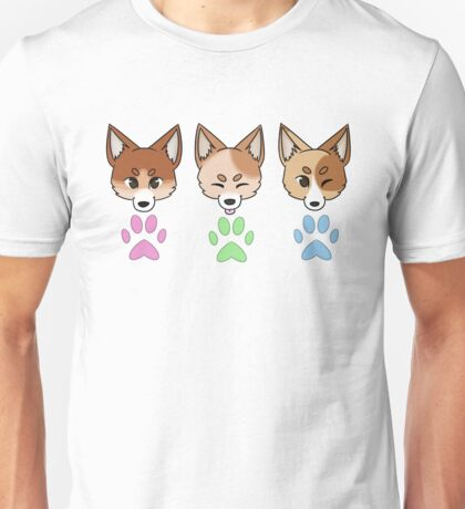 Red Cattle Dogs Unisex T-Shirt