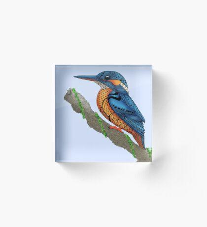 Kingfisher Acrylic Block