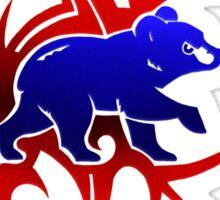 Cubs-Tribal Sticker