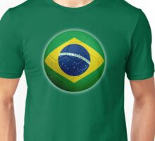 Brazil - Brazilian Flag - Football or Soccer 2 Unisex T-Shirt