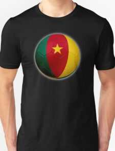 Cameroon - Cameroonian Flag - Football or Soccer 2 T-Shirt