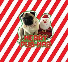 Merry Pug-mas by Zero887