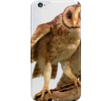 Australian Mask Owl iPhone Case/Skin