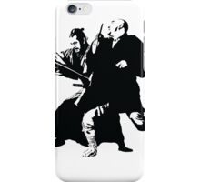 Yojimbo - Toshiro Mifune - Akira Kurosawa Film - Black and White Version - Great Gift for Fans of Classic Japanese Films iPhone Case/Skin