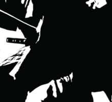 Yojimbo - Toshiro Mifune - Akira Kurosawa Film - Black and White Version - Great Gift for Fans of Classic Japanese Films Sticker