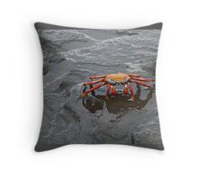 Sally Lightfoot Crab Throw Pillow