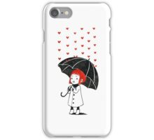 Love rain iPhone Case/Skin