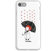Love rain iPhone Case/Skin