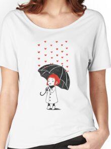 Love rain Women's Relaxed Fit T-Shirt