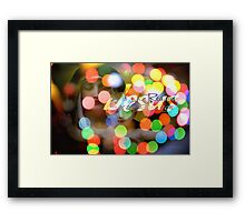 Jesus is the Reason for the Season Framed Print