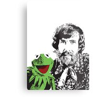 Jim Henson and Kermit - Master Puppeteer and Creative Genius Metal Print