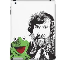 Jim Henson and Kermit - Master Puppeteer and Creative Genius iPad Case/Skin