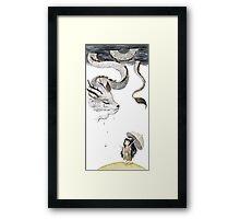 Rain dragon Framed Print