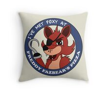 Five Nights at Freddy's - I've Met Foxy Throw Pillow