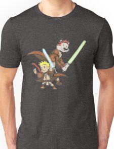 Calvin and Hobbes Star Wars Pals Unisex T-Shirt