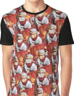 Legionary Pattern Graphic T-Shirt
