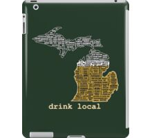 Drink Local (MI) (with Outline) iPad Case/Skin