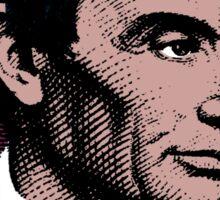 ABRAHAM LINCOLN-COLOUR Sticker