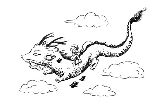 Dragon by freeminds