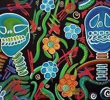Sugar Skull Spirits 2 by Laura Barbosa