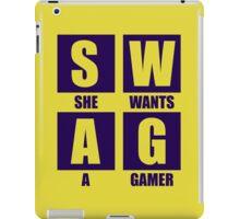 She Wants A Gamer iPad Case/Skin