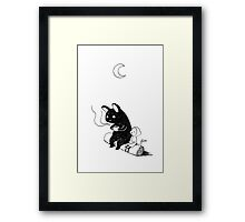 Camping Framed Print