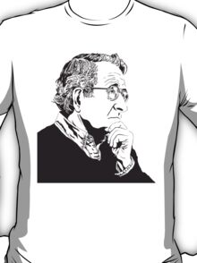Noam Chomsky - Portrait Version - Great American Mind and Teacher T-Shirt