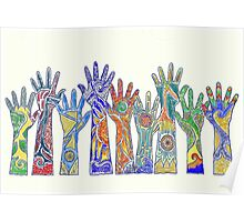 Nine Hands Poster