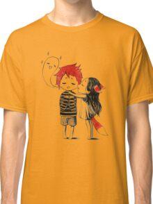 Boy and a fox Classic T-Shirt