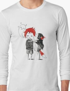 Boy and a fox Long Sleeve T-Shirt