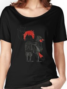 Boy and a fox Women's Relaxed Fit T-Shirt
