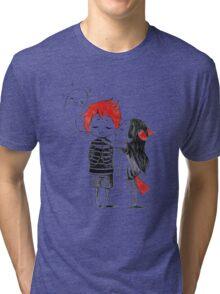 Boy and a fox Tri-blend T-Shirt