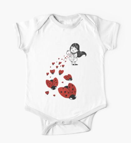 Ladybugs One Piece - Short Sleeve