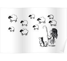 Shepherdess Poster