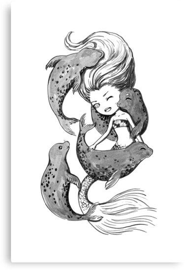 Mermaid by freeminds