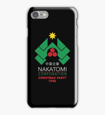 Nakatomi Corporation - Christmas Party iPhone Case/Skin