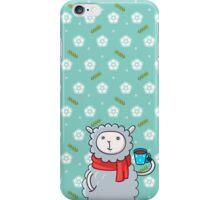 Cozy Winter Lamb iPhone Case/Skin