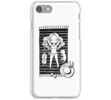 Girl on the beach iPhone Case/Skin
