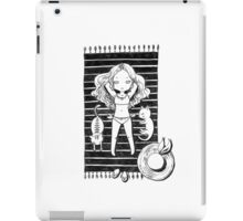 Girl on the beach iPad Case/Skin