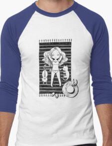 Girl on the beach Men's Baseball ¾ T-Shirt