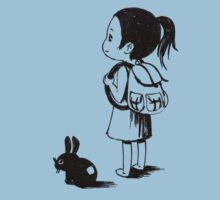 Girl and a rabbit Kids Clothes
